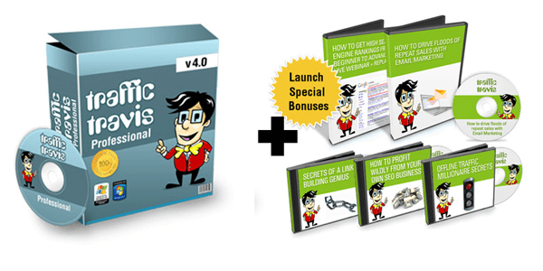 Traffic Travis - SEO Professionals Software - Save 20%